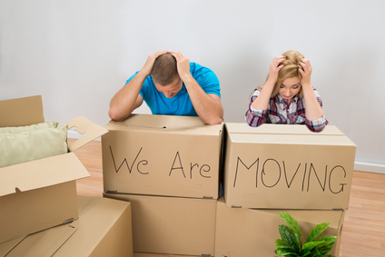 Moving Industry with frustrated movers